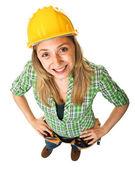 Manual worker portrait — Foto Stock