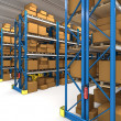 Warehouse 3d — Foto Stock #5869324