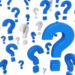 Question mark — Stock Photo #5869328