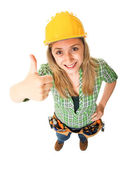 Positive worker — Stock Photo