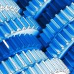 Blue gear — Stock Photo #5911890
