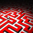 Royalty-Free Stock Photo: Maze background