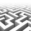 Royalty-Free Stock Photo: 3d maze