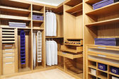 Wood closet — Stock Photo