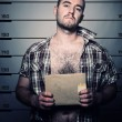 Man arrested photo - Foto Stock