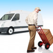 Delivery service — Stock Photo #5982271