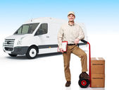 Delivery service — Stock Photo
