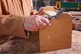 üst düzey marangoz detay — Stok fotoğraf