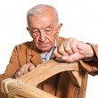 Old carpenter - Stock Photo
