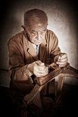 Eski marangoz — Stok fotoğraf