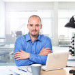 Man in office — Stock Photo #6106298