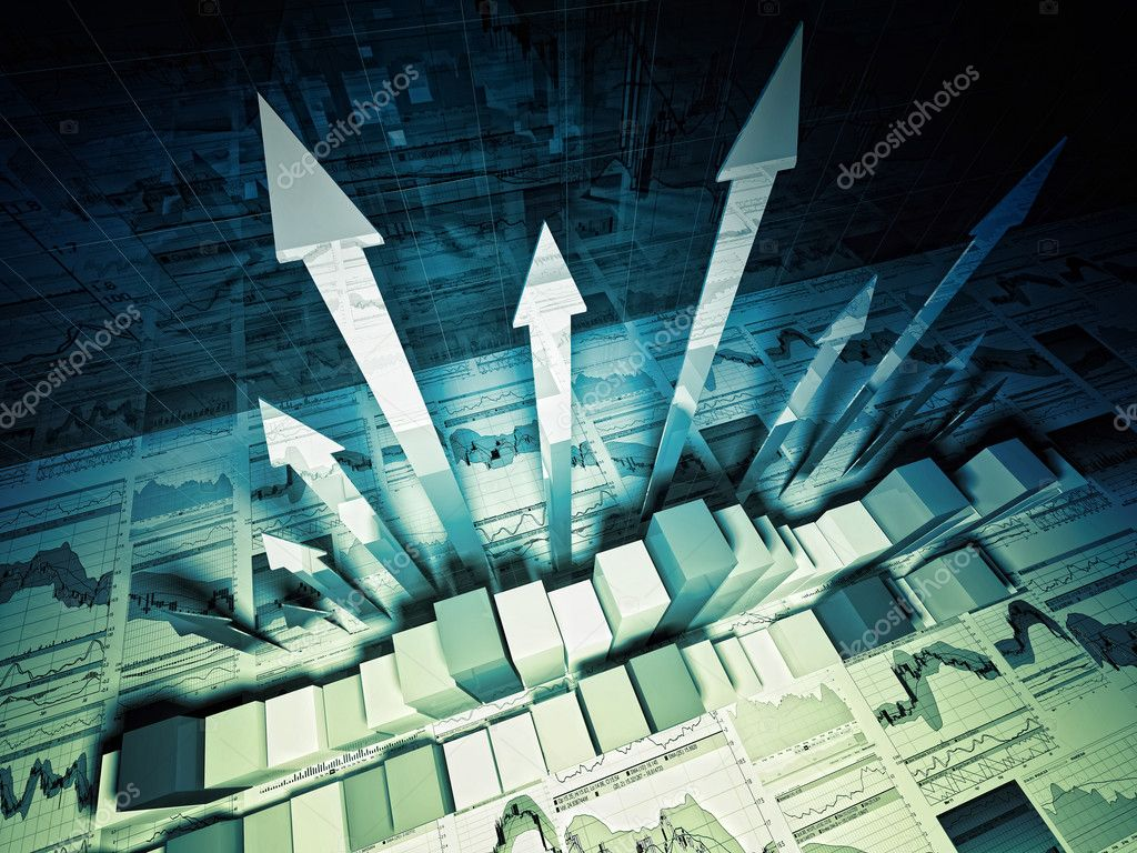 financial graph 3d background  u2014 stock photo  u00a9 jukai5  6142303