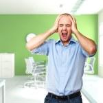 Stress at work — Stock Photo