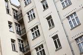 Edificio in polonia a lodz — Foto Stock