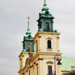 Warsaw church - Stock Photo