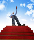 Stair to success — Stock Photo