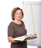 Преподаватель в работа — Стоковое фото