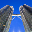 Petronas tower bridge detail - Stock Photo