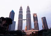 Torres Petronas — Fotografia Stock