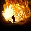 Woman in cave — Stock Photo #6683360