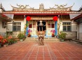 Ancestral Temple in Taiwan — Stock Photo