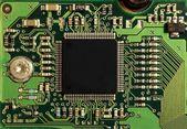 Immagine di macro di un controller di disco rigido — Foto Stock