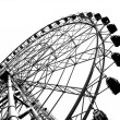Stock Photo: Outline of Large Ferris Wheel