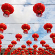 Stock Photo: Chinese Red Lantern