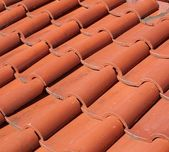 Chinese Traditional Roof Tiles — Stock Photo