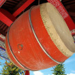 Large Temple Drum — Foto Stock