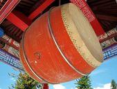 Large Temple Drum — Stock Photo