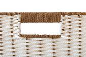 Basket isolated on white — Stock Photo