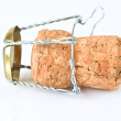 Champagne Cork Macro — Stock Photo