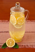 Lemonade Pitcher — Stock Photo