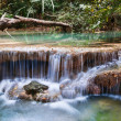 Stock Photo: Beautiful waterfall cascades