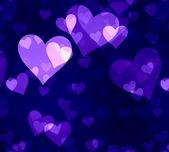 Hearts seamless pattern — Stock Photo