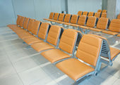 Airport or bus station seast — Stock Photo