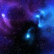Starry background of deep outer space — Stock Photo #5704328