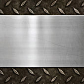 Old metal background texture — Stock Photo