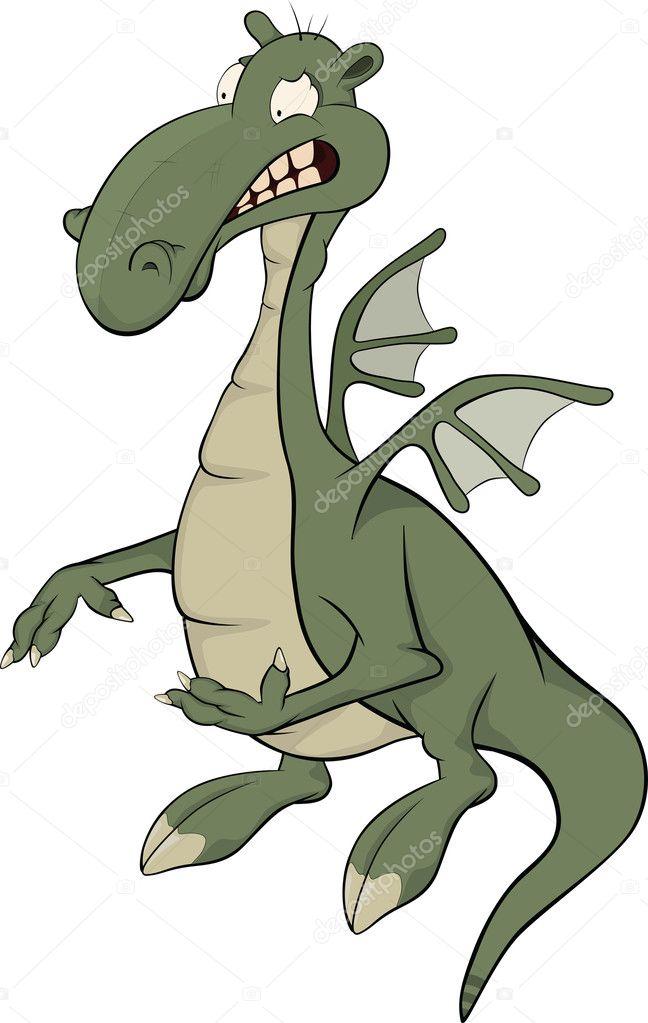 龙卡通占星术恐龙 — 矢量图片作者 liusaart