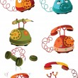 Complete set of phones — Vecteur #5847236