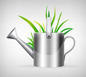 Watering can — Stock Vector