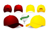 Baseball cap — Vector de stock