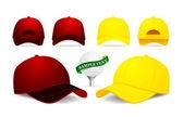 Beyzbol şapkası — Stok Vektör
