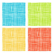 Fabric background for your design — Stock Vector