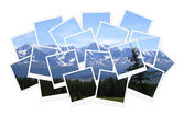 Landscape, collage of photos for your design — Stock Photo