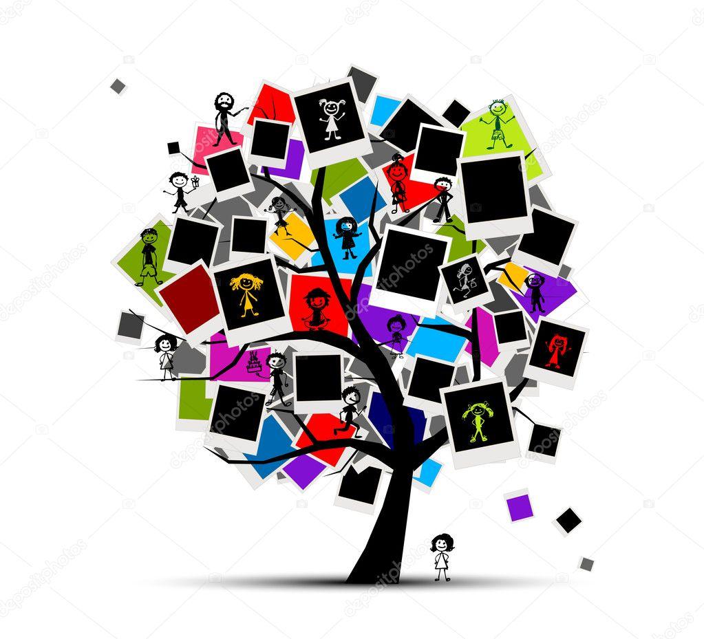 рамки для фото генеалогическое древо онлайн
