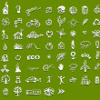 Royalty-Free Stock Vector Image: Ecology icons for your design