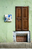 Old door — Stockfoto