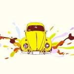 Retro car — Stock Vector #5690311